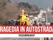incidente autostrada morto