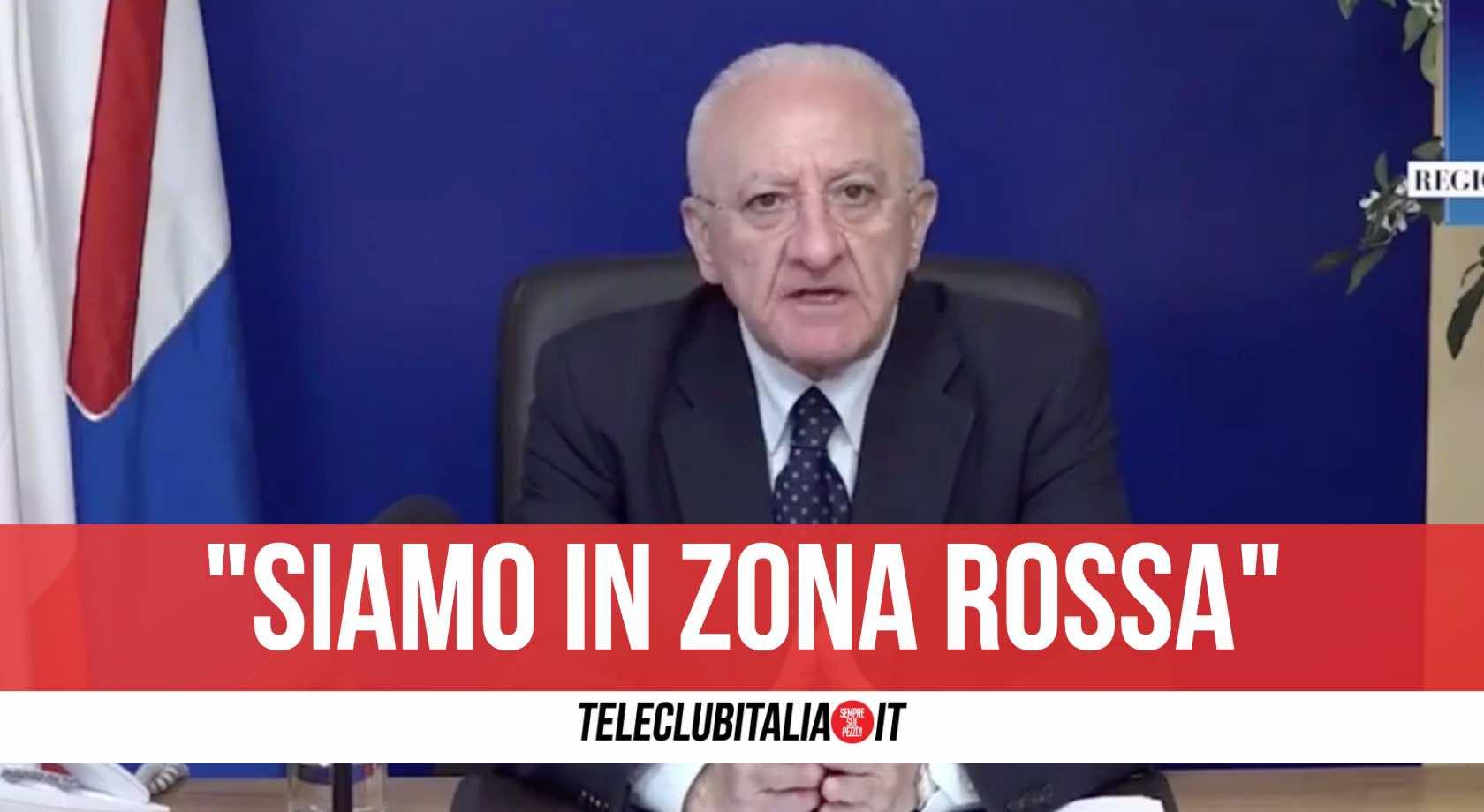 Campania zona rossa da lunedì 8 marzo, ordinanza di Speranza