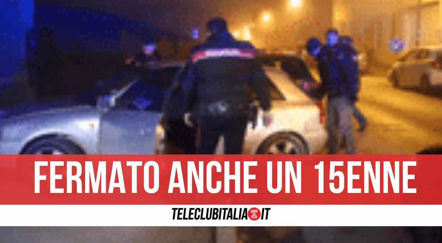 pozzuoli inseguimento carabinieri