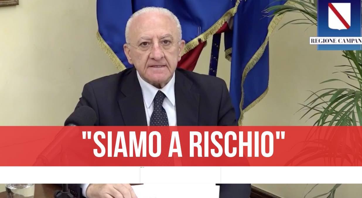 La Campania resta zona rossa: ecco fino a quando!