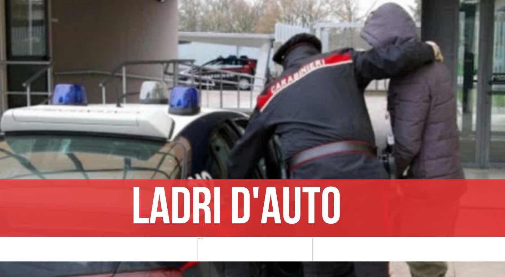 giugliano furto auto