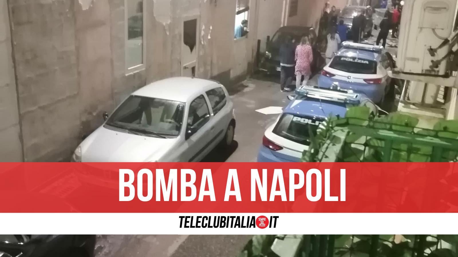 bomba napoli ponticelli