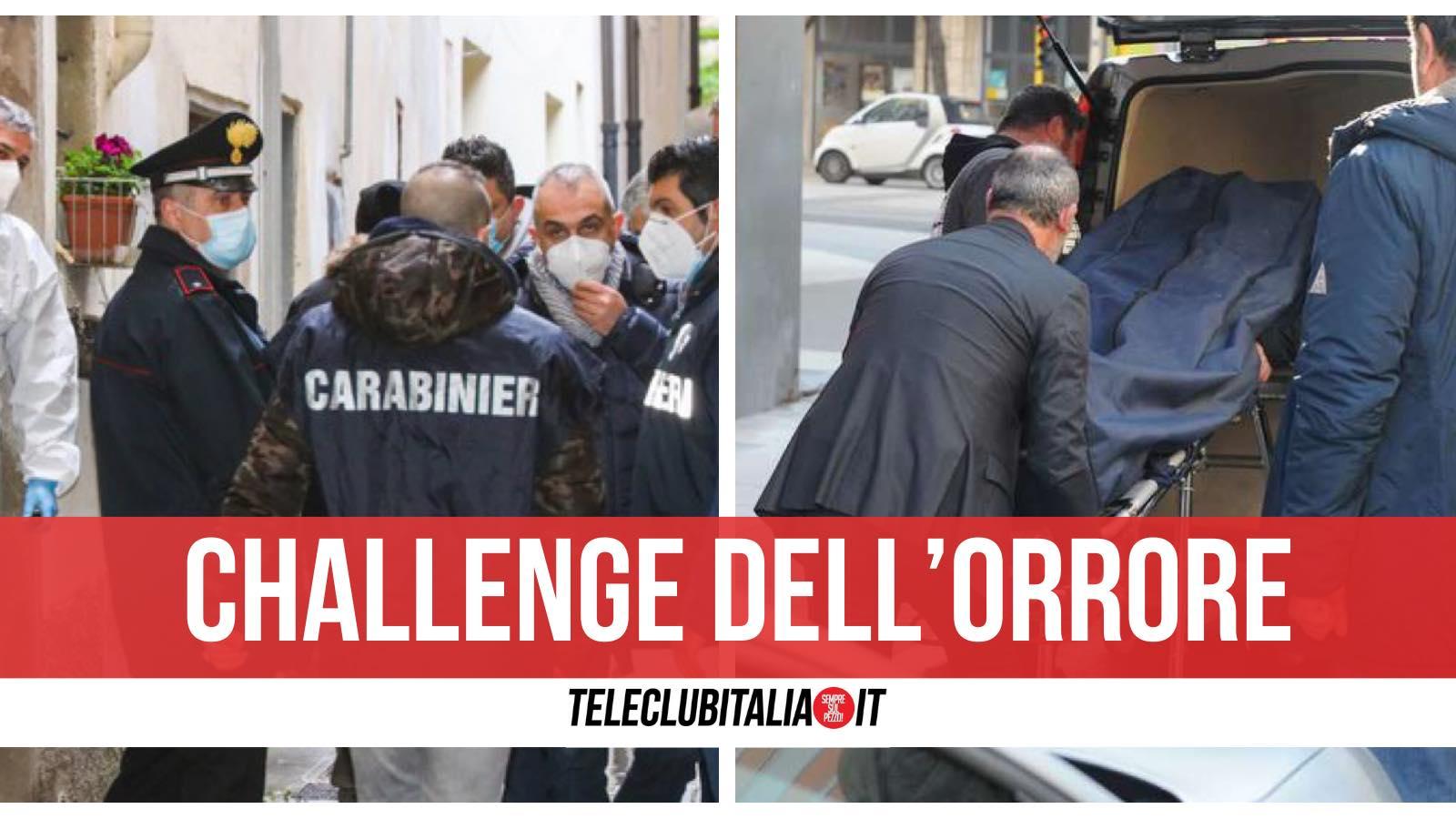 borgofranco d'ivrea morta bambina tik tok challenge