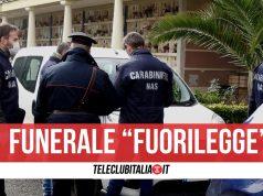 carabinieri funerale scafati covid