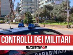 carabinieri giugliano melito posti di blocco