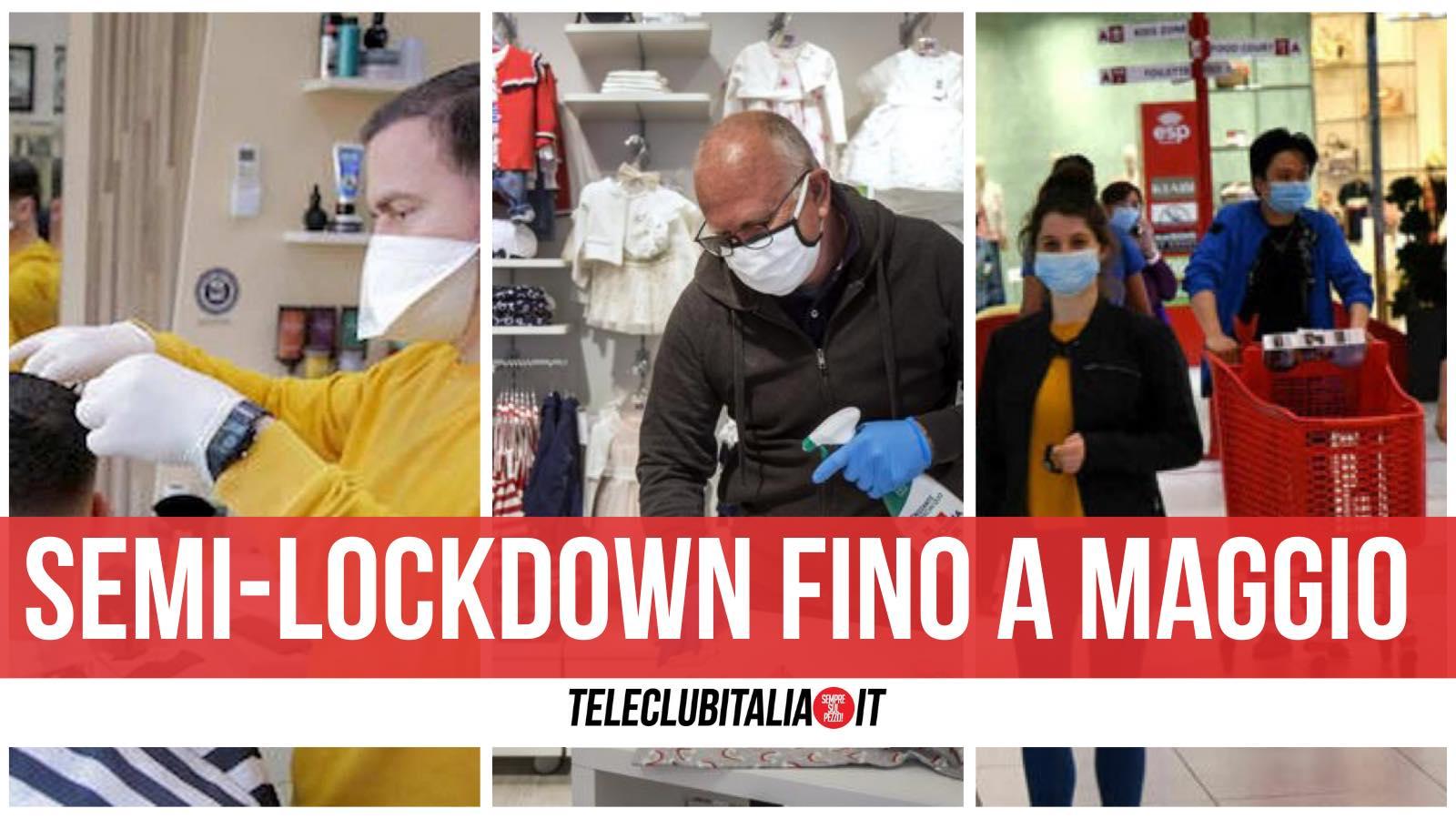 chiusure fino a maggio regole italia lockdown