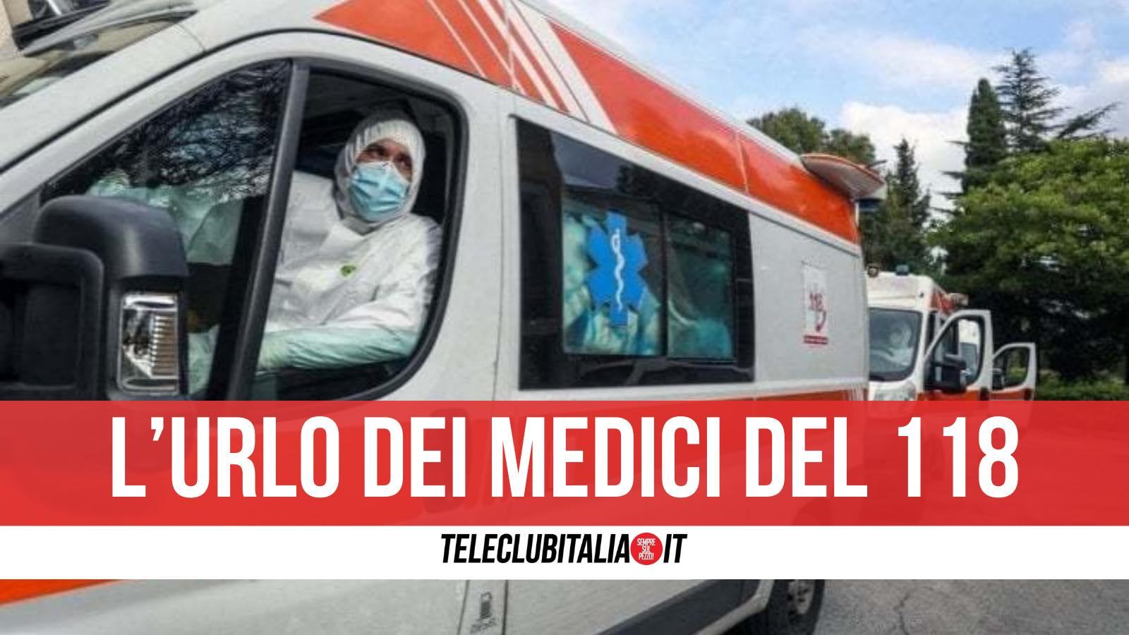 dimissioni di massa medici 118 campania