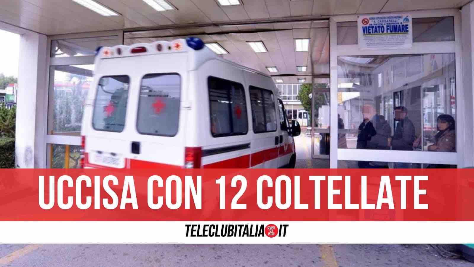 Dramma a Napoli, Ornella Pinto morta dopo 15 coltellate inferte dal marito