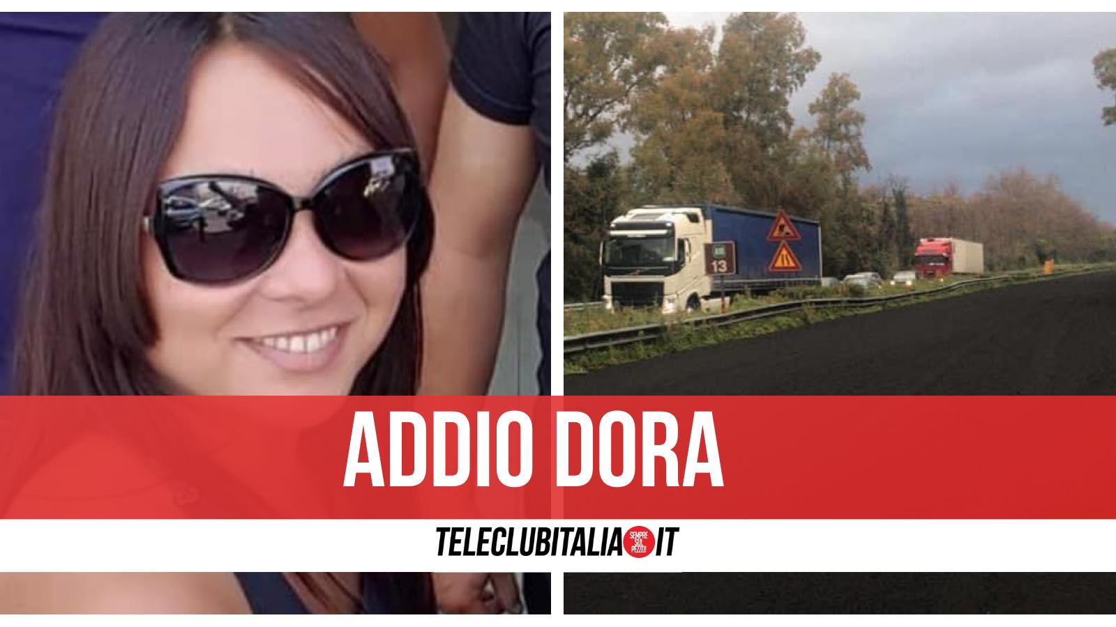 dora sciortino morta mascali incidente