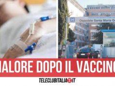 latina trombosi vaccino astrazeneca