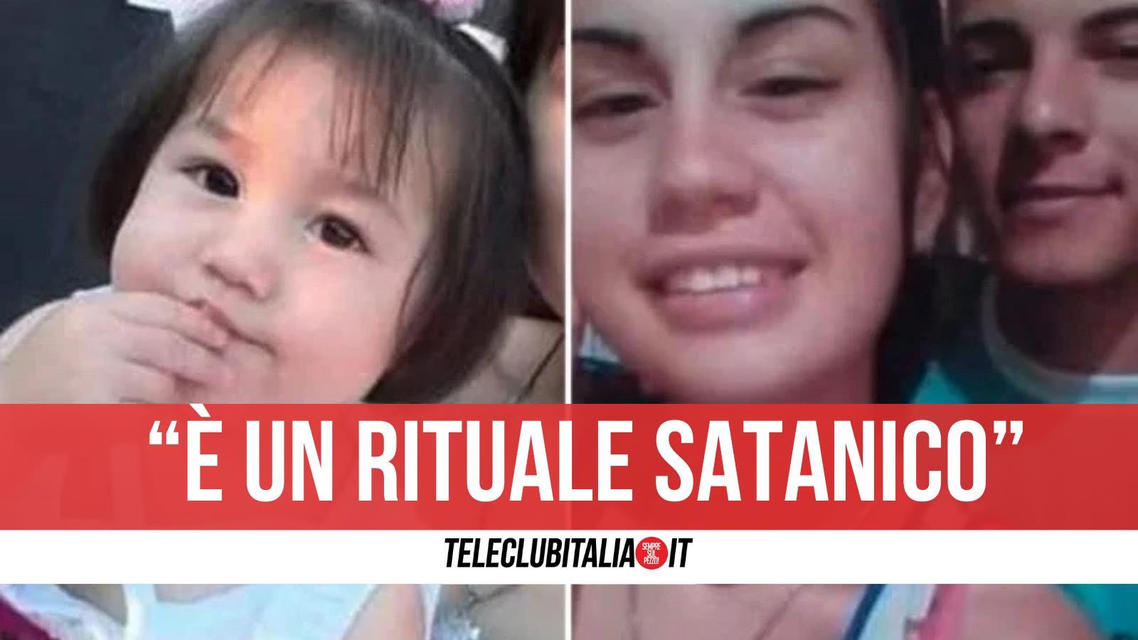 maia uccisa argentina bimba rituale satanico