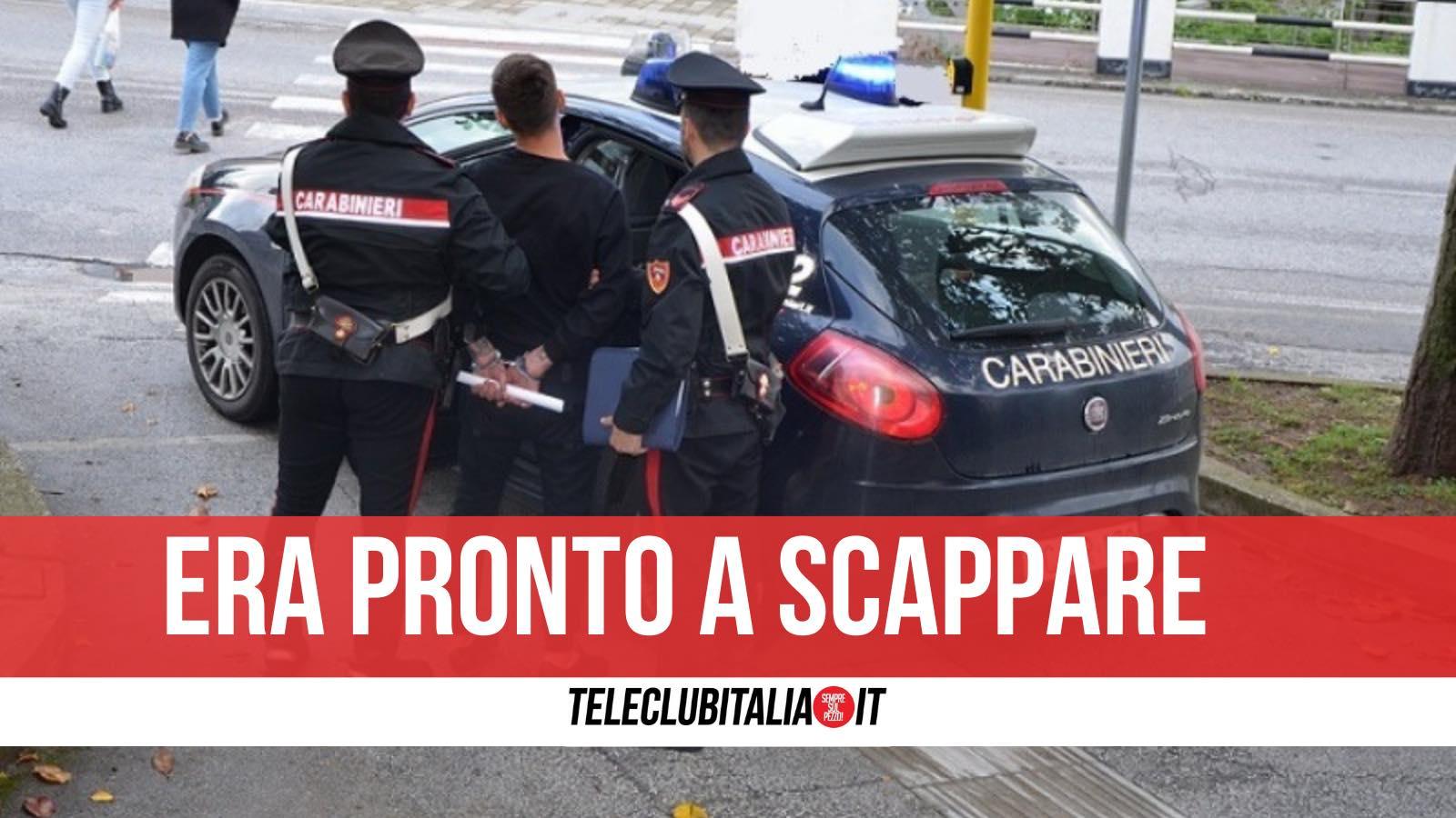 marco russo arrestato furto auto colli aminei