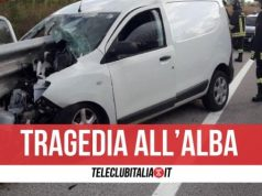 modugno morto incidente 22 marzo