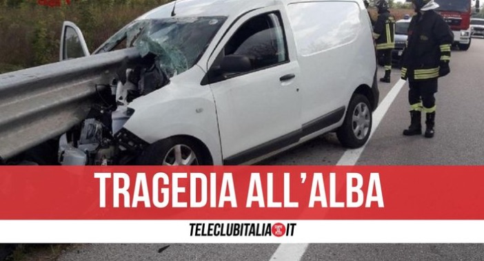 modugno morto incidente 22 marzo