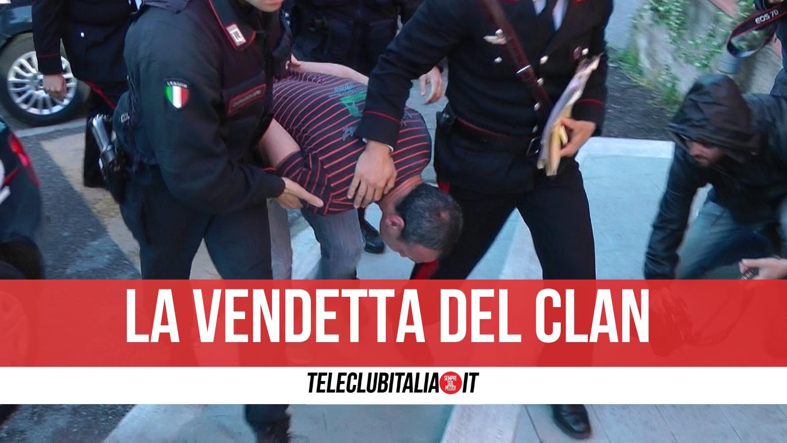 omicidio carolei castellammare arresti