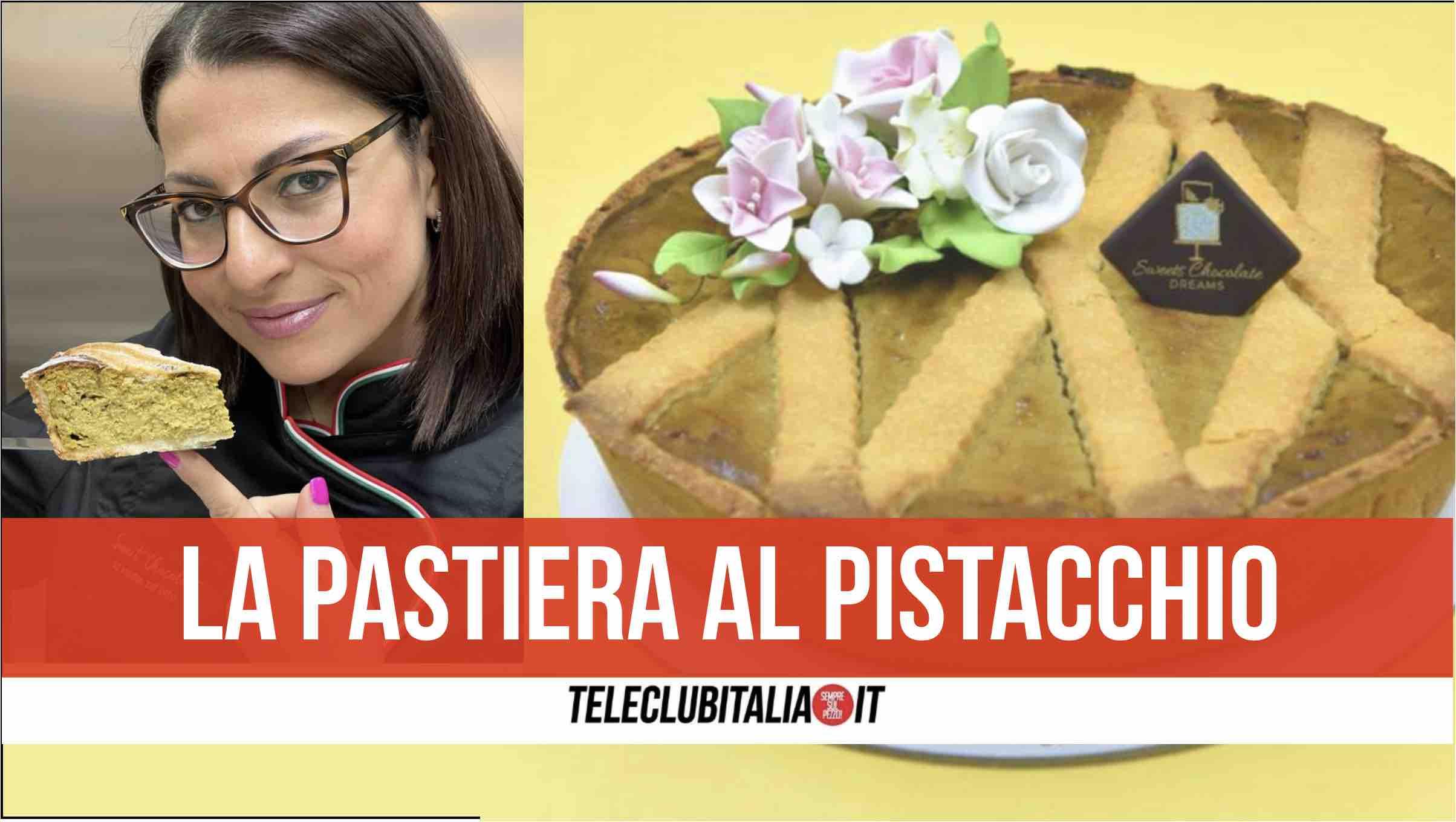 pastiera pistacchio sweet chocolate giugliano maria de vito pastry chef pasqua