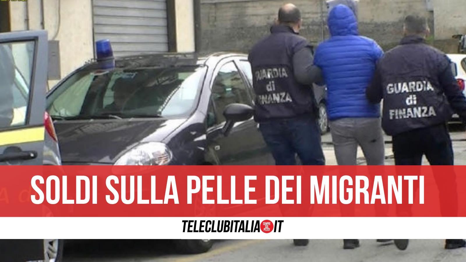 qualiano arrestati imprenditori business migranti no limes