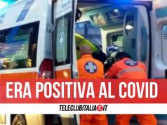 scafati morta ambulanza