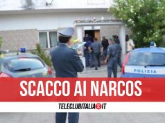 sequestrati 150 chili cocaina giugliano varcaturo armi