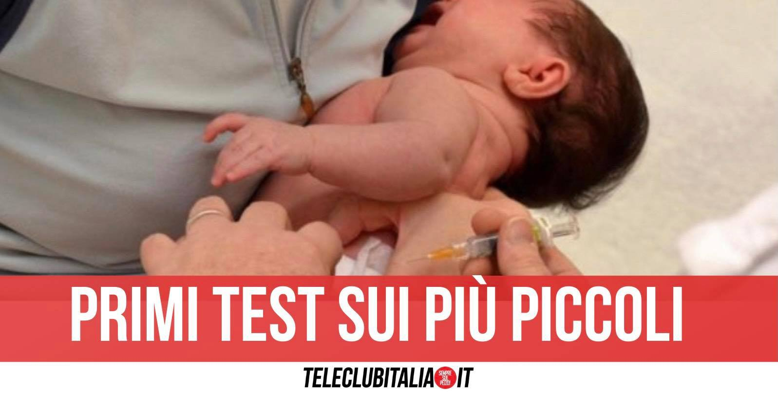 sperimentazione vaccino pfizer bambini neonati