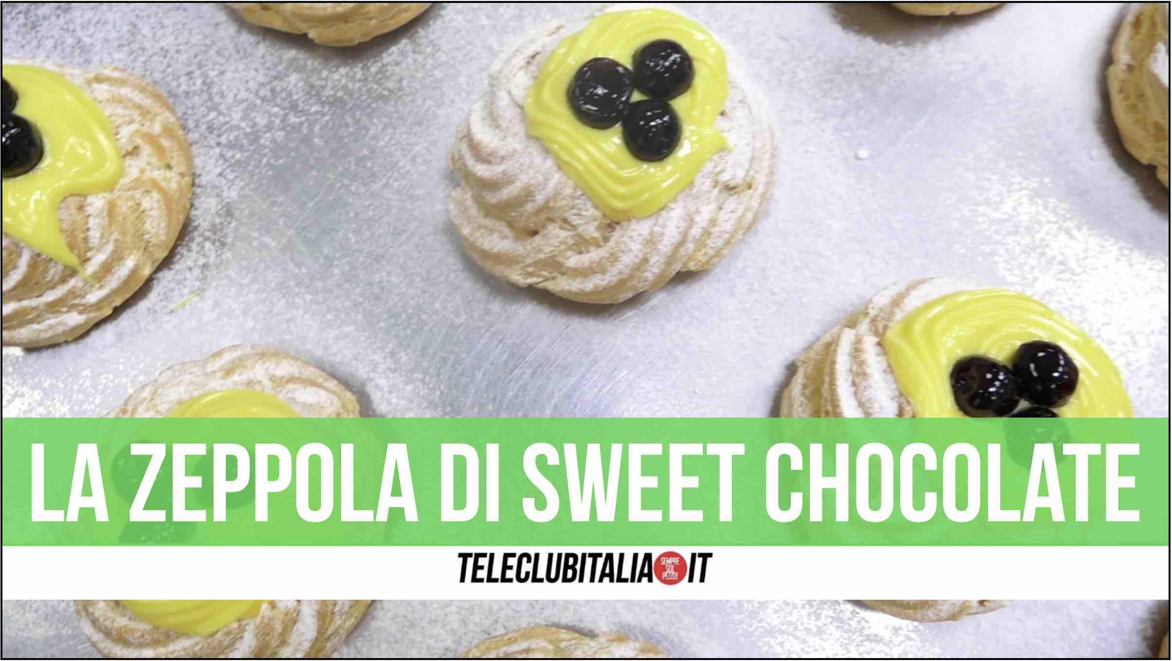 sweet chocolate giugliano maria de vito pastry chef zeppola di san giuseppe