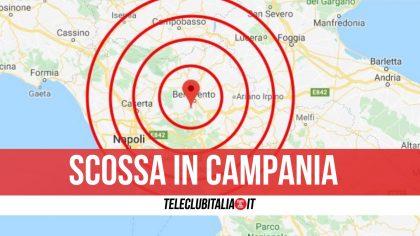 Terremoto in provincia di Benevento: tremano decine di comuni
