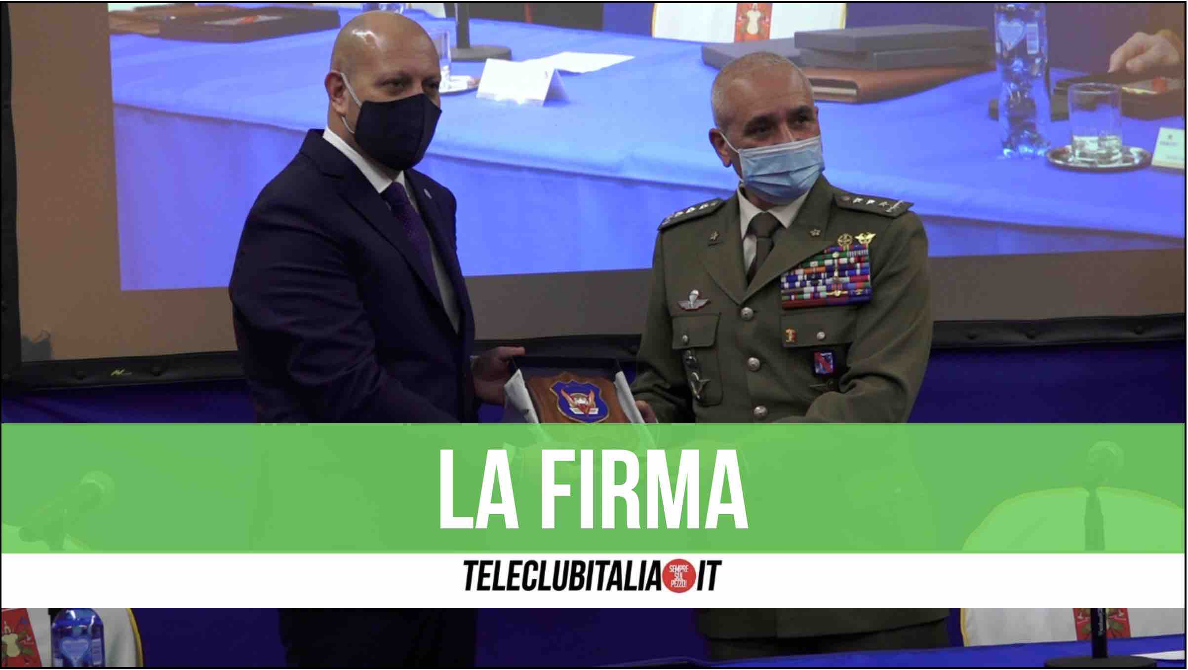 union security giugliano roma esercito ricollocamento