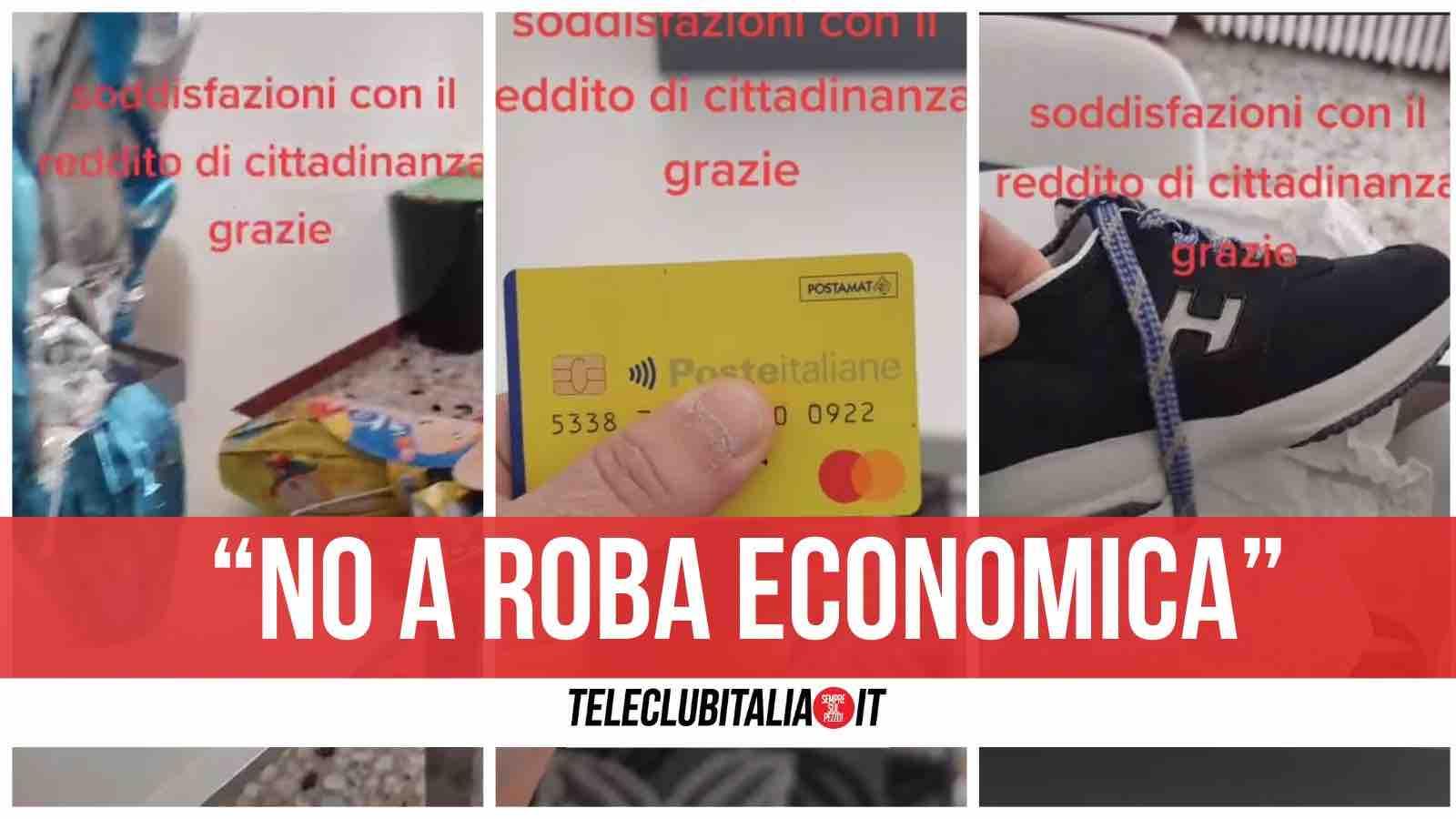 video reddito di cittadinanza tik tok