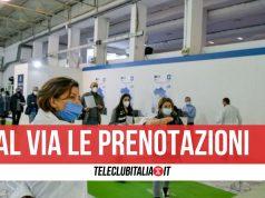 volontari protezione civile vaccini prenotazioni campania