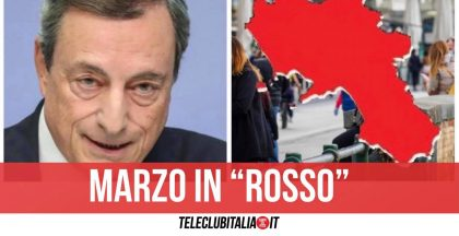 Campania, a breve la decisione per la zona rossa: la data di inizio