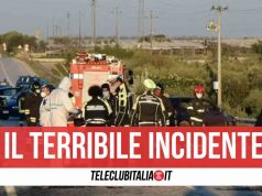 incidente bari 2 morti
