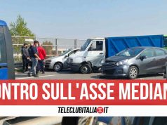 incidente asse mediano aversa melito