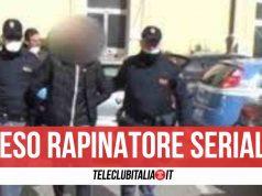 rapinatore casera arrestato