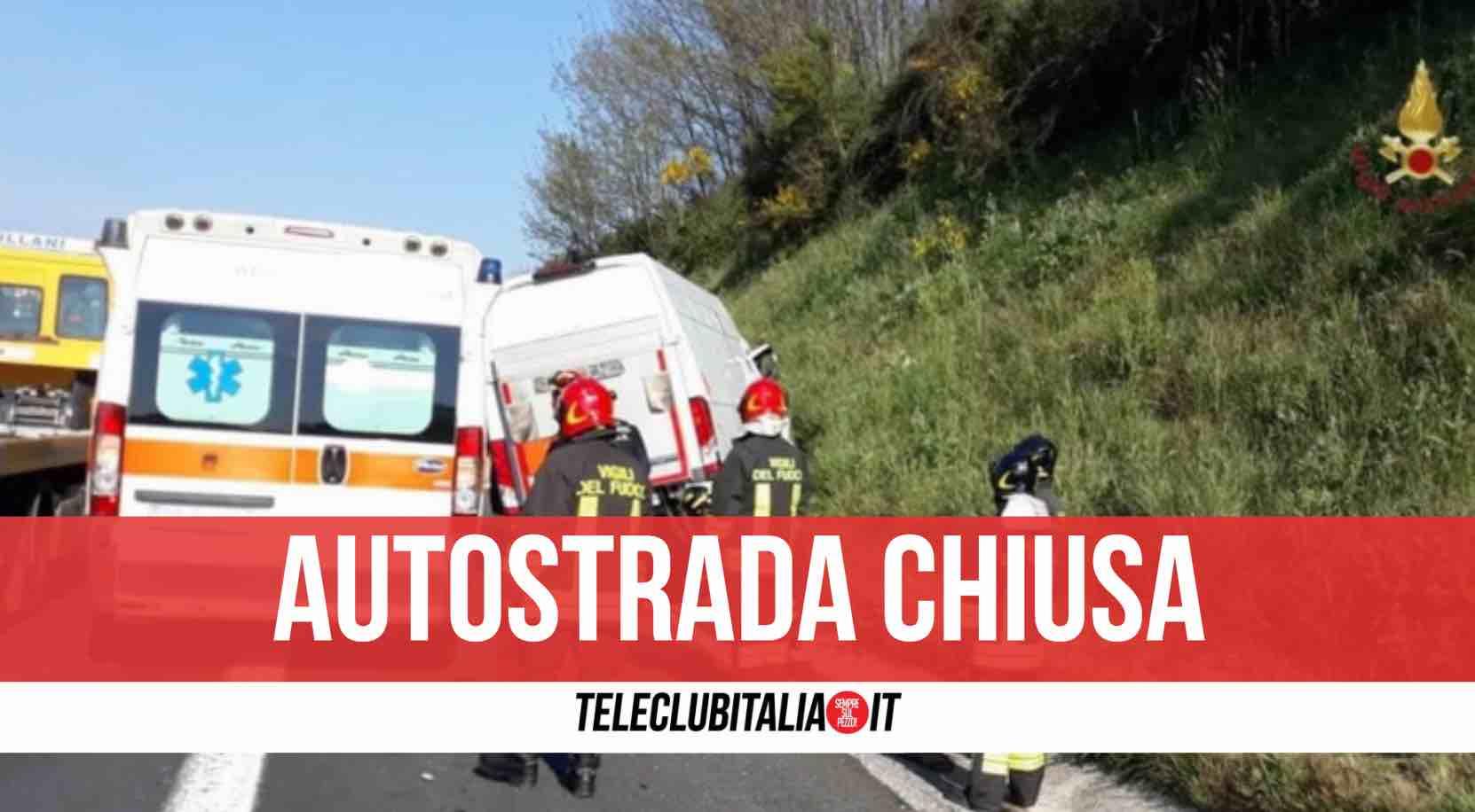 incidente napoli roma