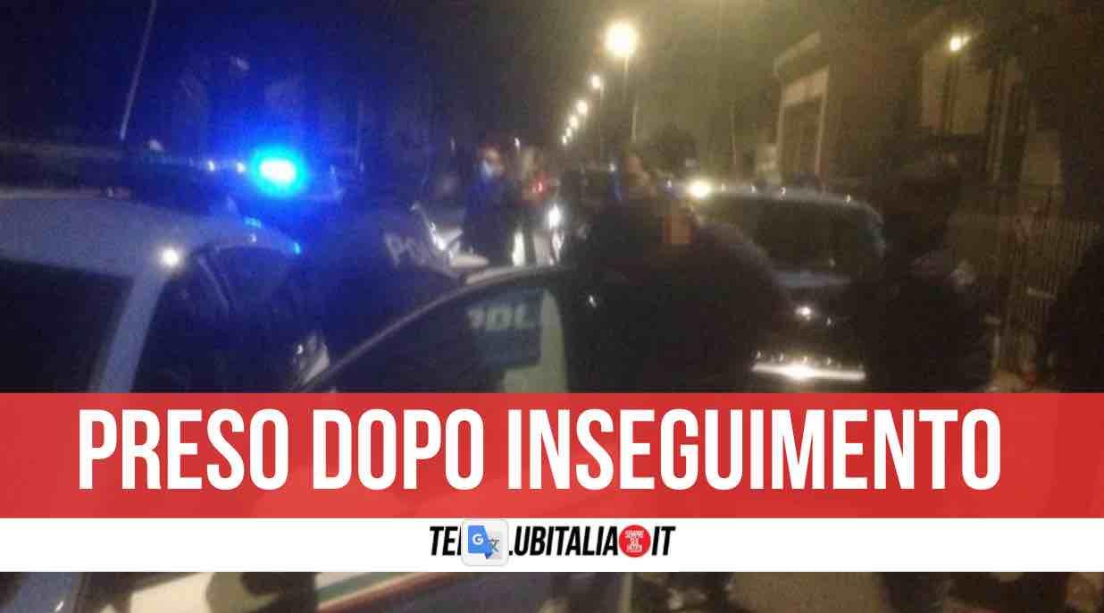 inseguimento arresto Raffaele Buonocore
