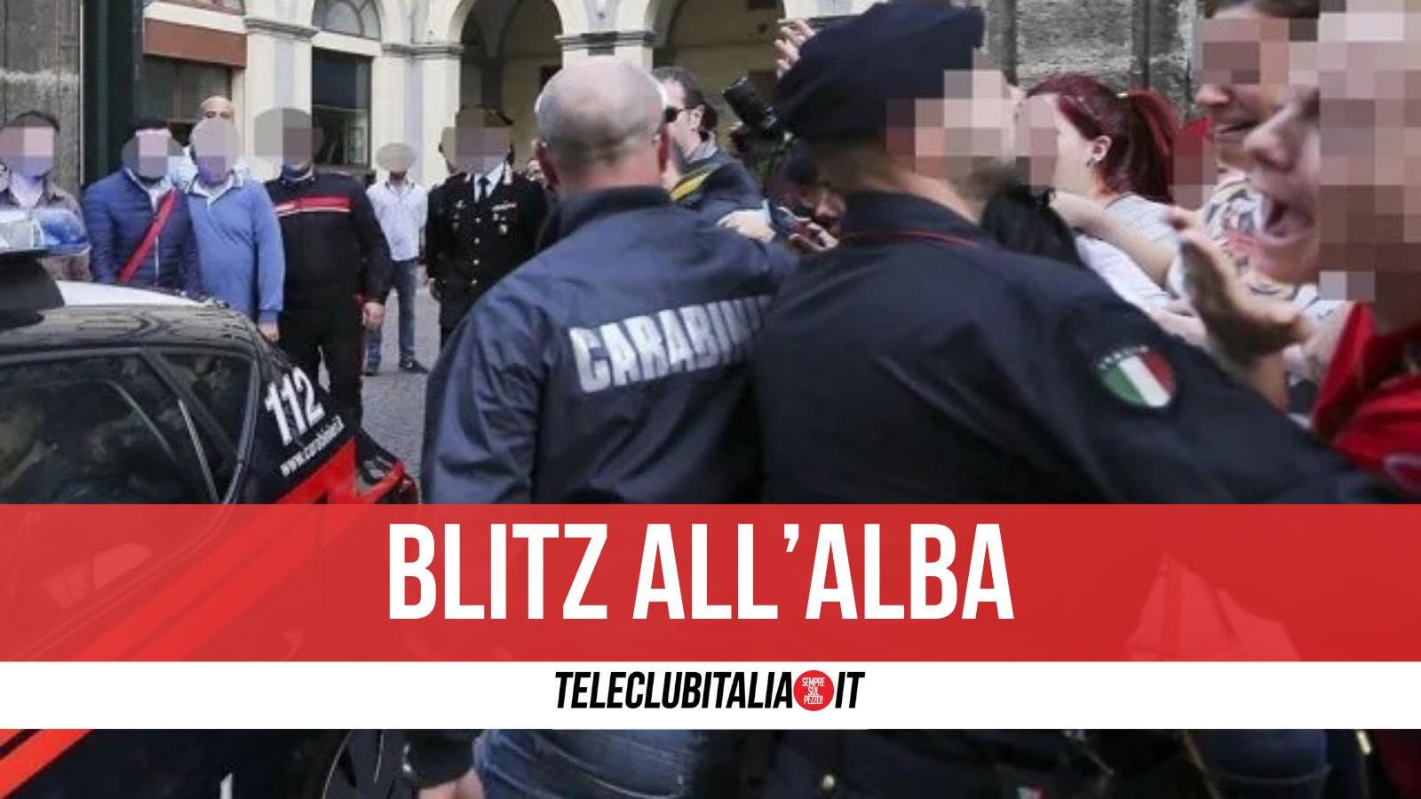 arresti clan sibillo napoli 28 aprile