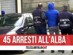 arresti guardia di finanza camorra napoli salerno 12 aprile