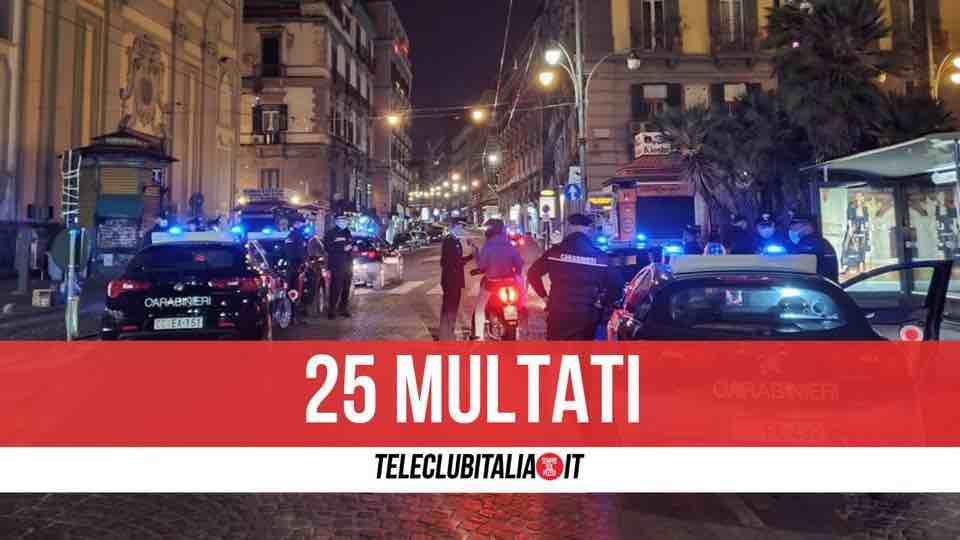 assembramento carabinieri piazza dante