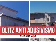 blitz anti abusivismo mansarda sequestrata giugliano