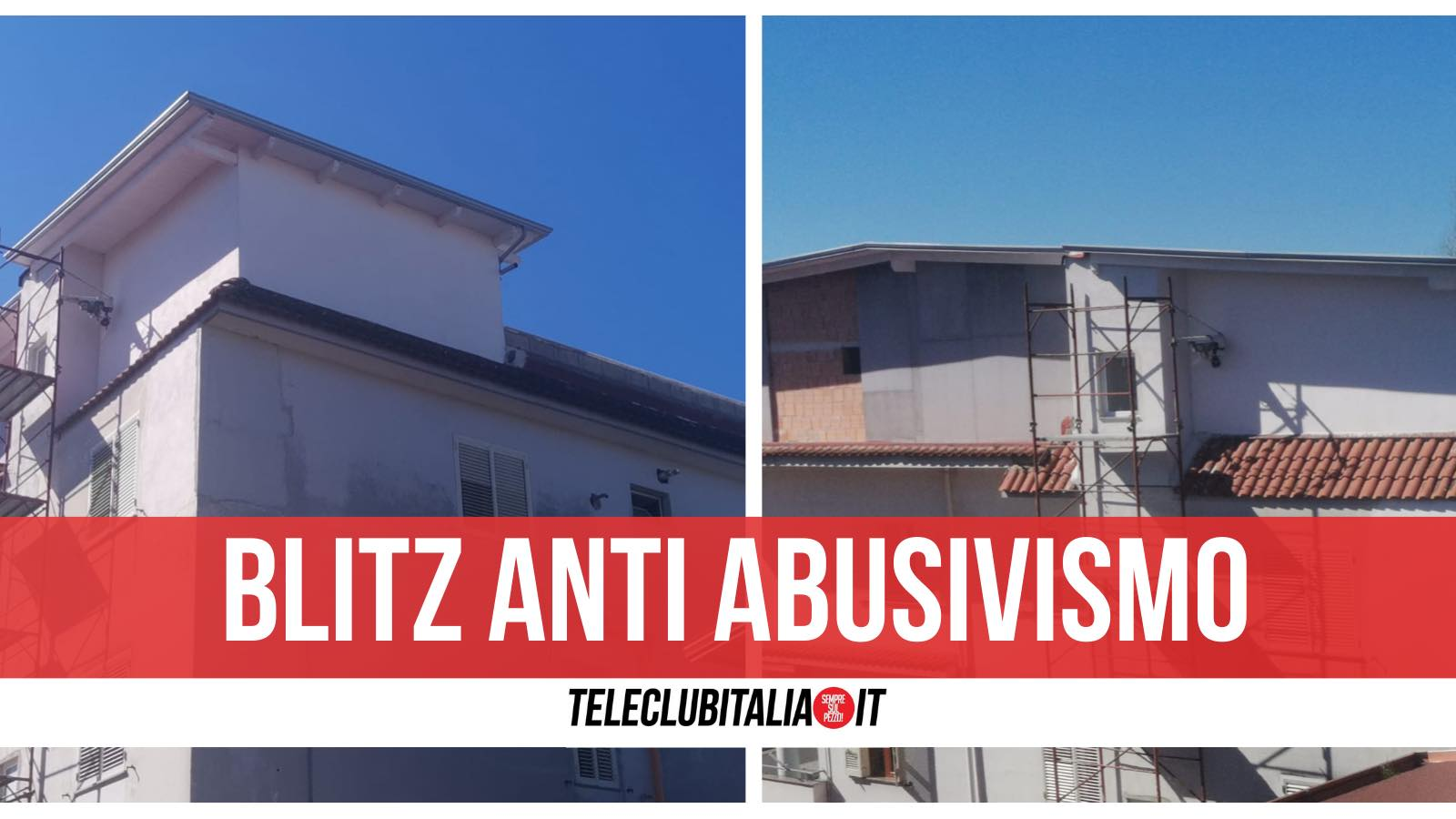 blitz anti abusivismo mansarda sequestrata giugliano
