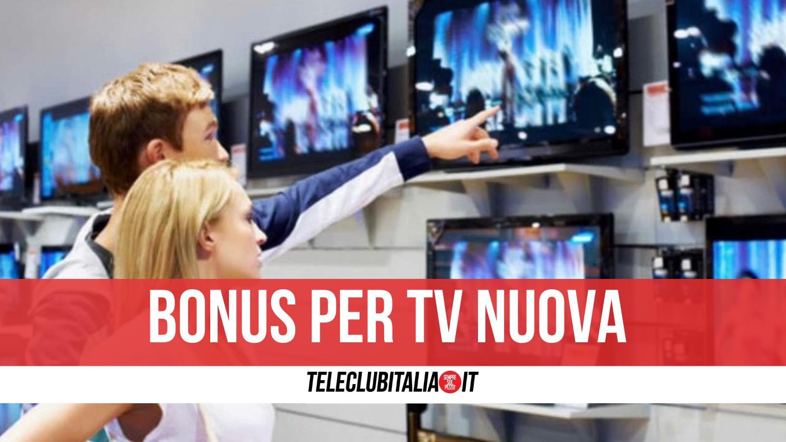 bonus tv nuova requisiti importi