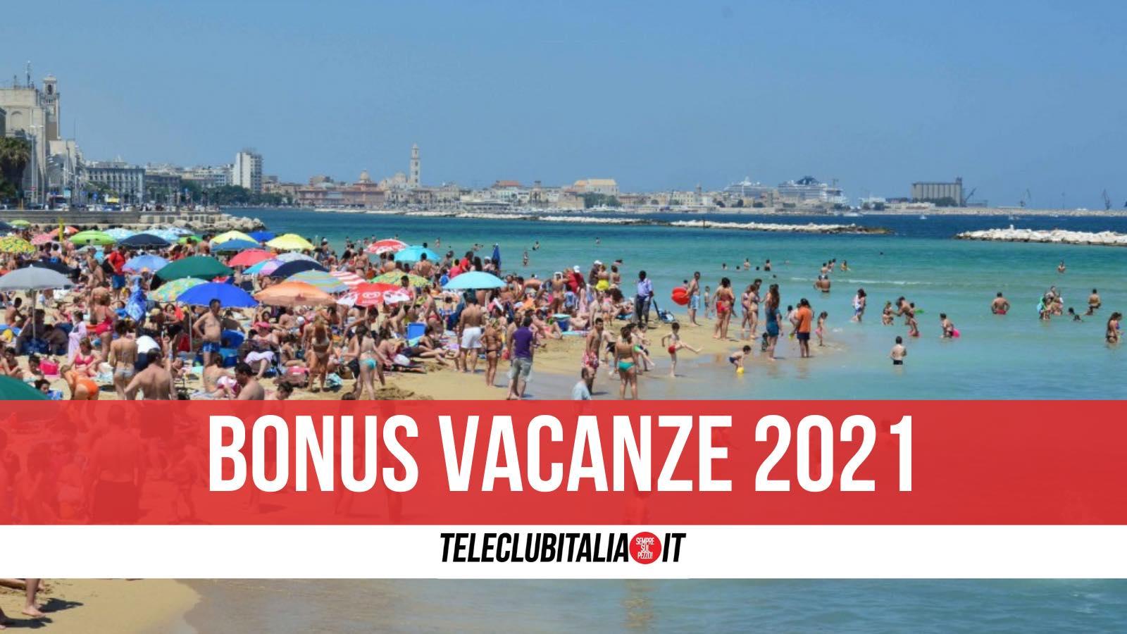 bonus vacanze 2021 rate agenzie di viaggio
