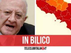 campania rosso arancione oggi decisione 16 aprile