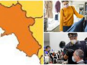 campania zona arancione lunedì 20 aprile