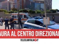 centro direzionale arresto scippo telefonino