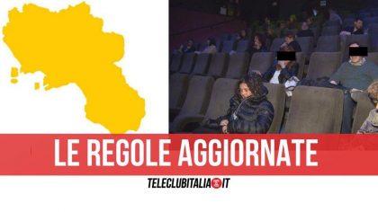 Campania zona gialla: da lunedì riaprono cinema, teatri e musei ma a queste condizioni