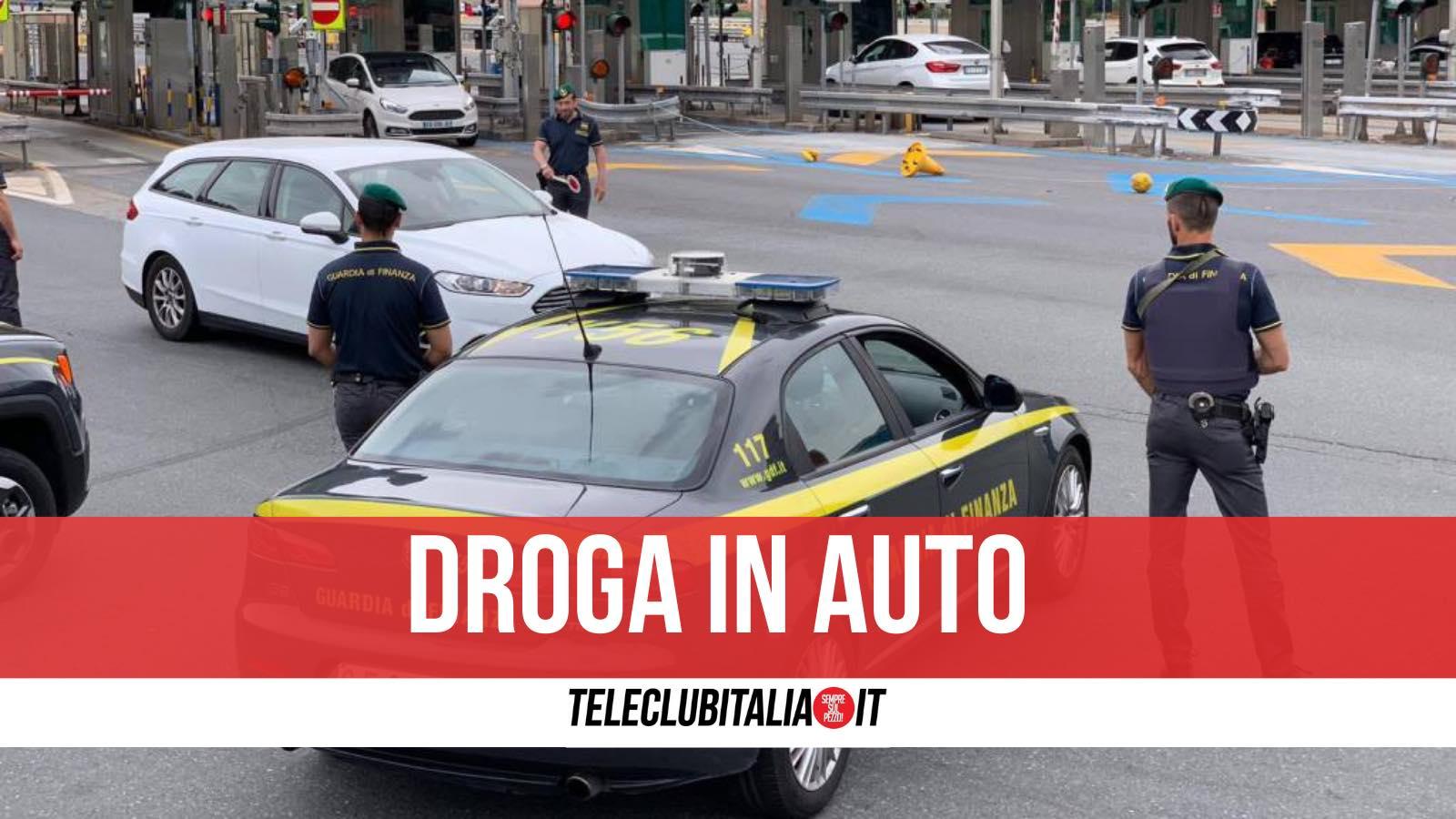 condannato cittadino turco tedesco droga in auto
