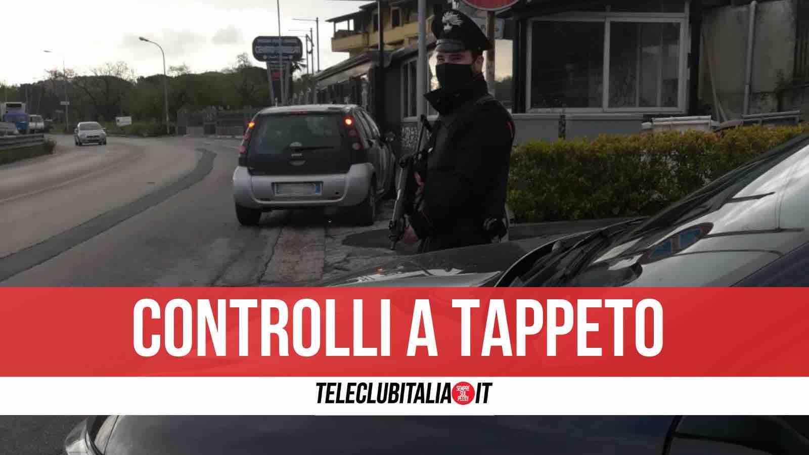 controlli carabinieri marano