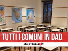 elenco comuni scuole chiuse campania