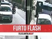 furto flash orta di atella